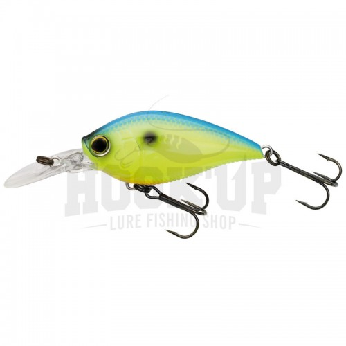Yo-Zuri 3DB Crank 1.5 MR (Silencieux) BLUE BACK CHARTREUSE (BCL)