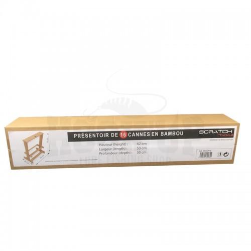 Scratch Tackle Presentoir Bambou 24 Cannes