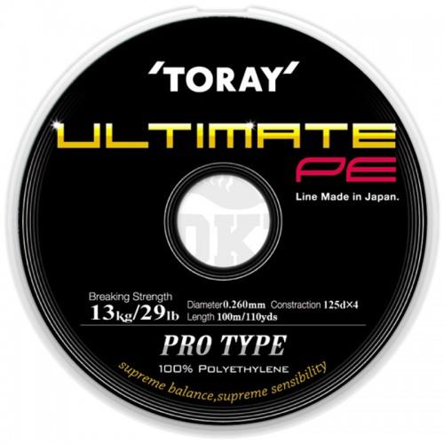 Toray Tresse Ultimate PE 100m