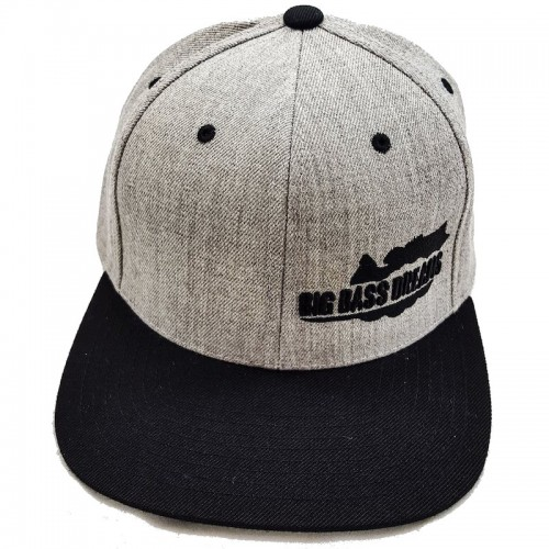 Big Bass Dreams Logo Classic Snapback Heather Black