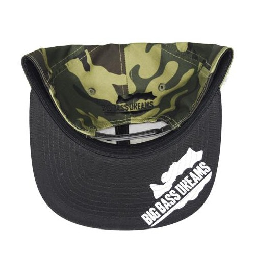 Big Bass Dreams Signature Series Snapback Camo Green