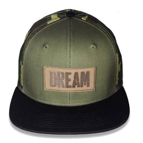 "Big Bass Dreams Signature Series ""DREAM"" Snapback Camo Green"