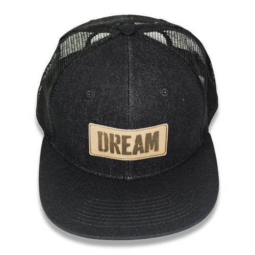 "Big Bass Dreams Signature Series ""DREAM"" Snapback Denim Style"