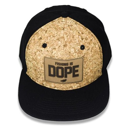 "Big Bass Dreams Signature Series ""Fishing is DOPE"" Snapback Cork"