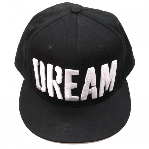 Big Bass Dreams Custom Snapback Hat Black