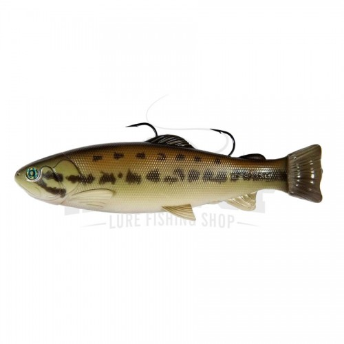 Defiant 210 Swimbait SS Black Bass
