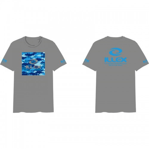 Illex T Shirt Sea Camo
