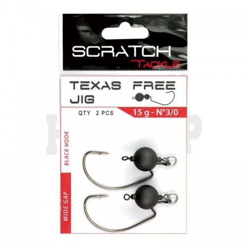 Scratch Tackle Texas Free Jig Head