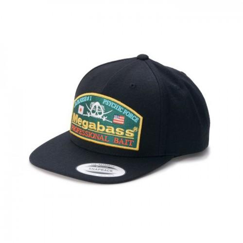 Megabass Casquette Psychic Snapback Black Green