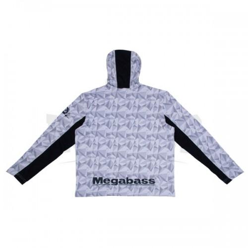 Megabass Game Hoodie Blanc