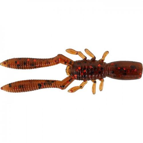 """Megabass Bottle Shrimp 4"""" Ebimiso Red Flakes"""
