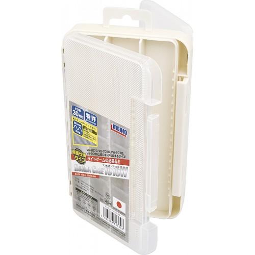 Meiho Run Gun Case 1010 W White White