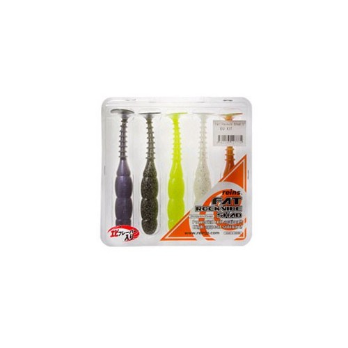 """Reins Fat Rockvibe Shad 5"""" Colors Kit"""