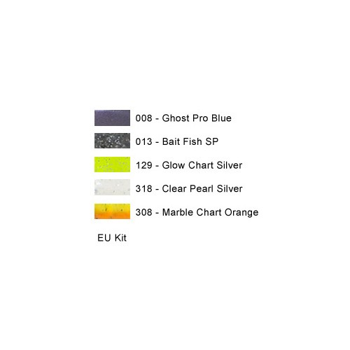 "Reins Fat Rockvibe Shad 5"" Colors Kit"