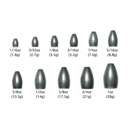 Noike Tungsten Bullet Sinker