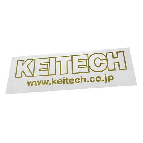 Keitech Sticker Large Gold