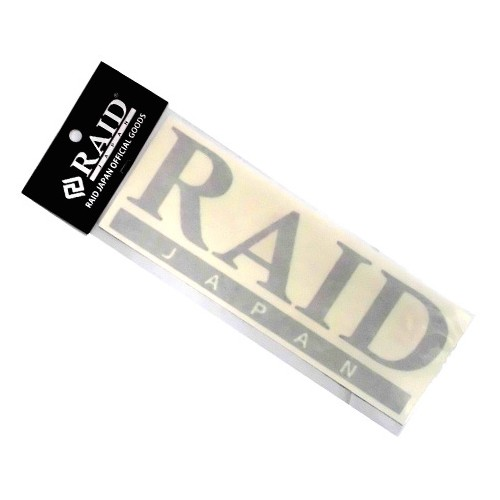 Raid Japan Sticker Black