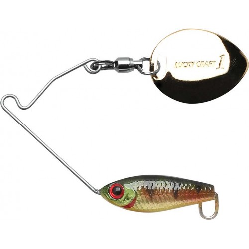 Lucky Craft Area's 1/8 oz - Aurora Gold Northern Perch