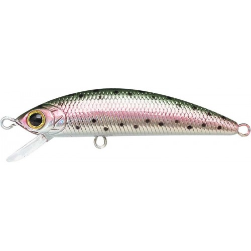 Lucky Craft Humpback Minnow 50 SP - Laser Rainbow Trout