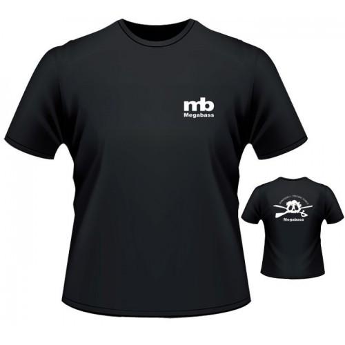 Megabass T Shirt Skull