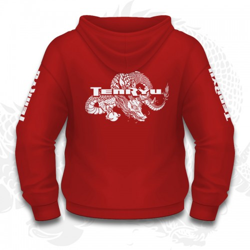 Tenryu Sweat Capuche Rouge