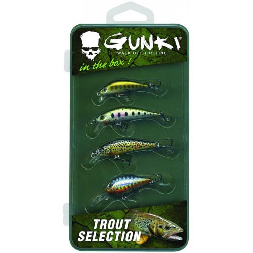 Gunki Box Trout Selection