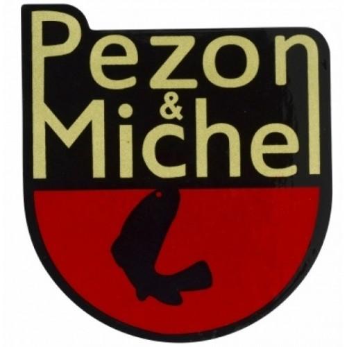 Pezon et Michel Autocollant Blason