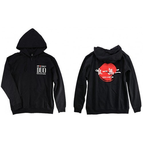 "Duo Sweat Hoody Noir ""There is only one"""