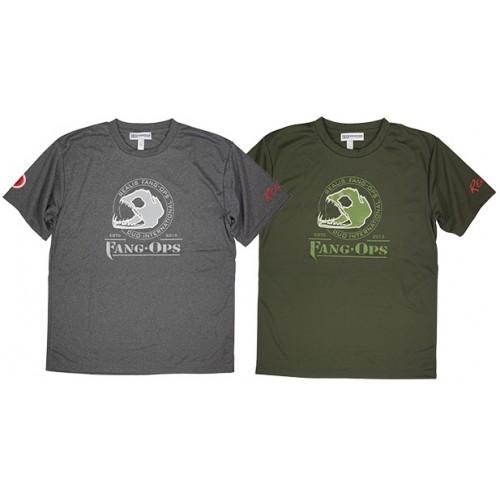 Duo Tee Shirt Fang Beast Army Grey