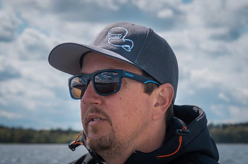 Buy Fishing Polarised Sunglasses Leech Reflex Orange
