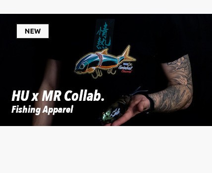HU x MR Collaboration Fishing Apparel